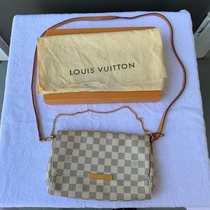 😍 LV Favorite MM Azur ❤️